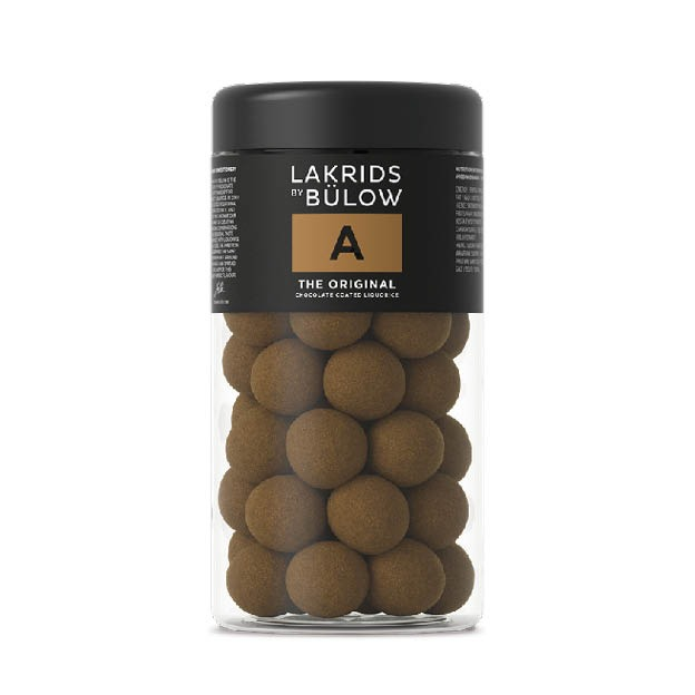 Lakrids A groot 295 Choc Coated Liquorice Lakrids by Johan Bülow