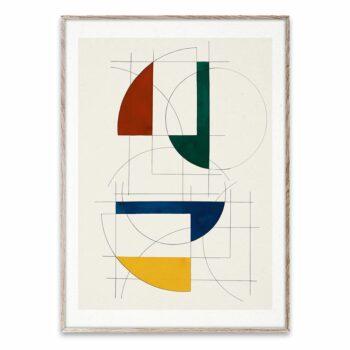 Construstions poster paper collection Berit mogensen 50 x 70