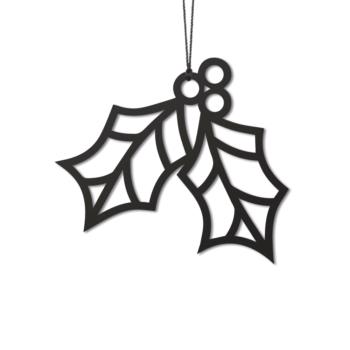 Felius-hulst-holly-kerstboom-hanger-zwart