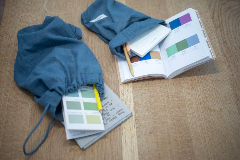 Eco bewaarzakken blauw all purpose bags the organic company
