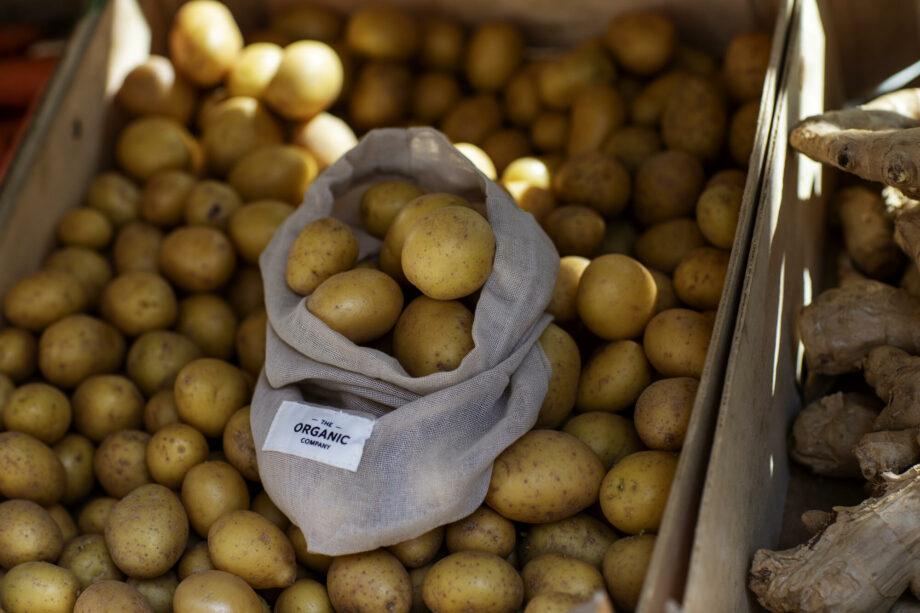 Food bag bewaarzak voor aardappelen The Organic company
