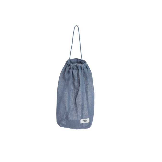 All purpose bag greyblue the organic company Medium
