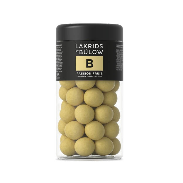 Lakrids B Passion fruit drop met chokolade Medium