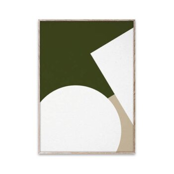 Nina Bruun Simple Forms 3 poster Paper Collective 30x40