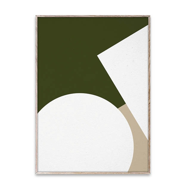 Nina Bruun Simple Forms 3 poster Paper Collective 50x70