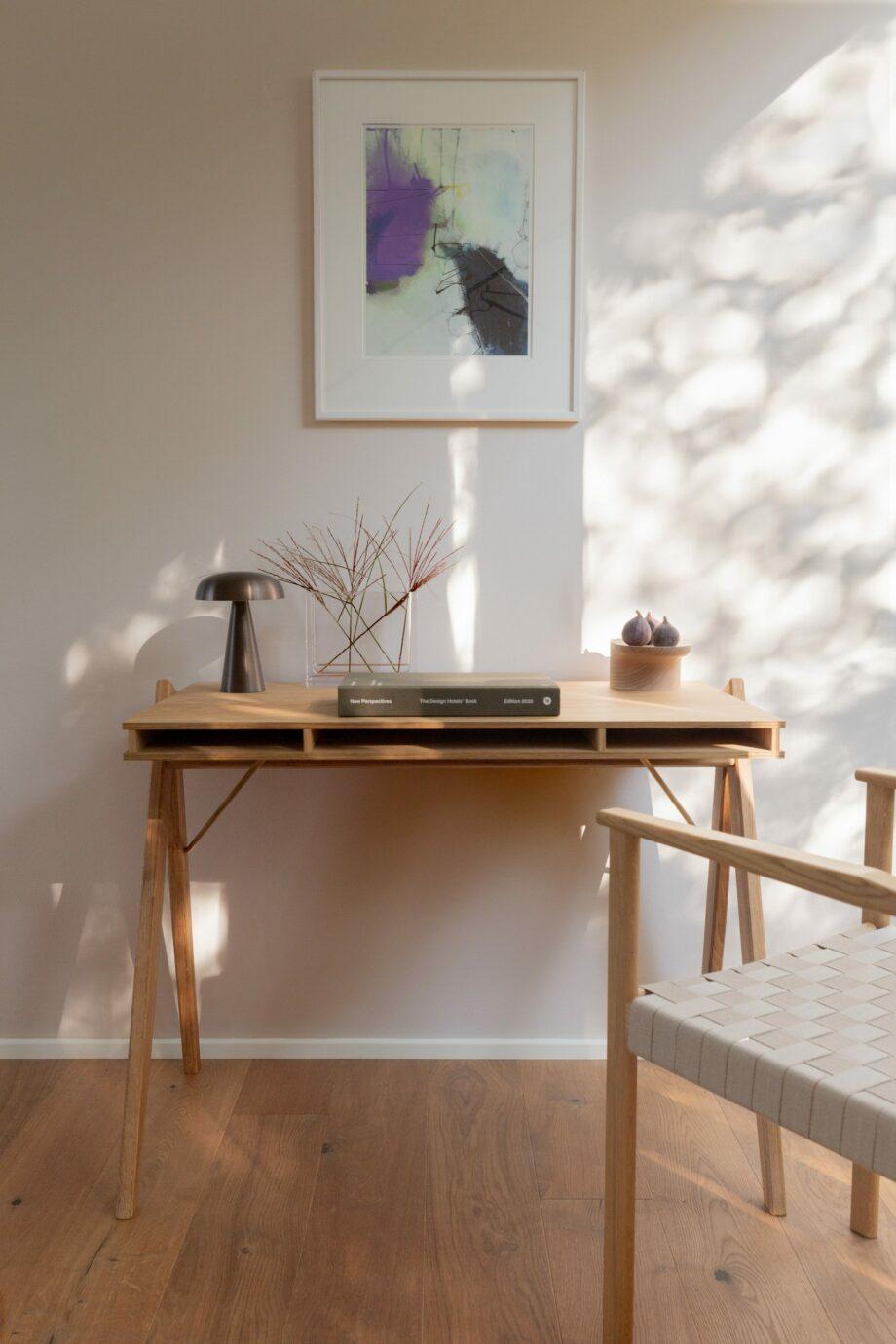 Field desk bureau we do wood thuiskantoor