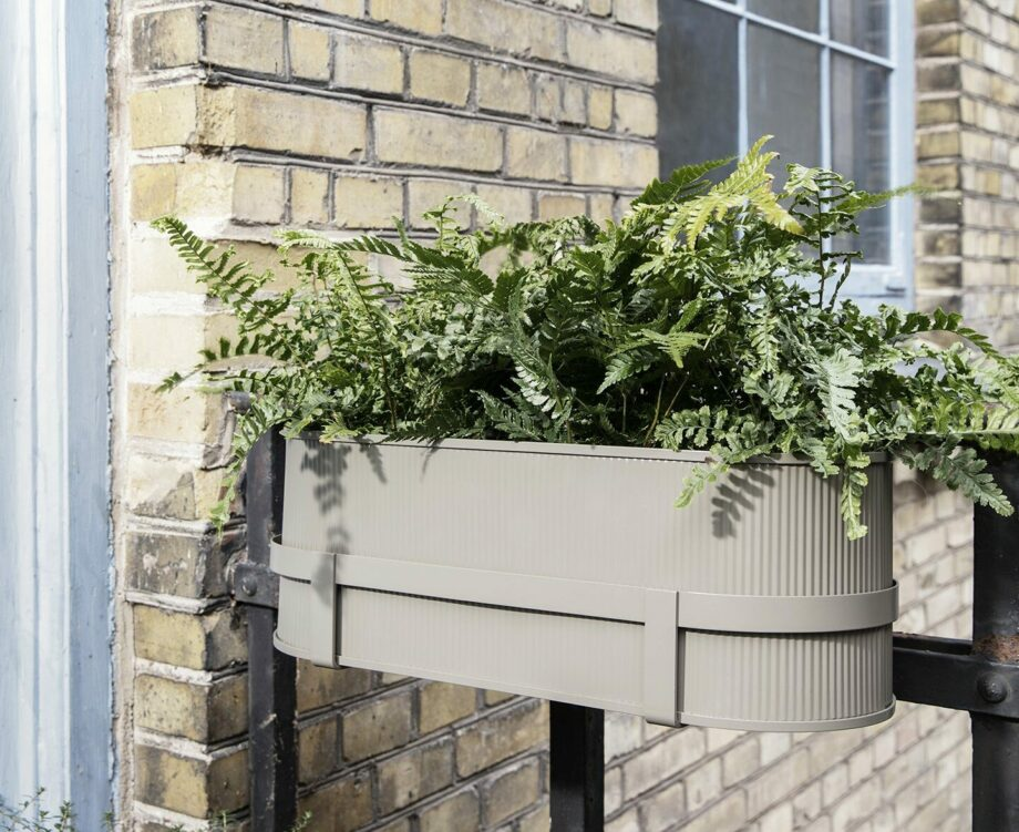 Bau Balcony box Ferm Living balkonbak warm cashmere