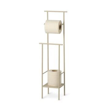 Dora toiletrolhouder cashmere beige toilet paper stand