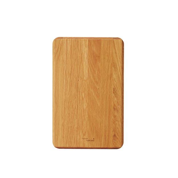 Form & refine cross snijplank eikenhout rechthoekig
