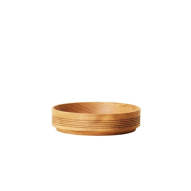 Form & refine Selection wooden bowl serveerschaal eikenhouten schaal