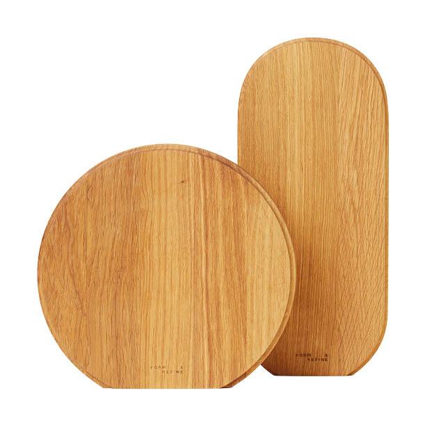 Form & refine snijplank rond en ovaal