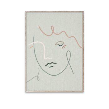 Paper Collective – Kit Agar - Gertrude poster 50x70
