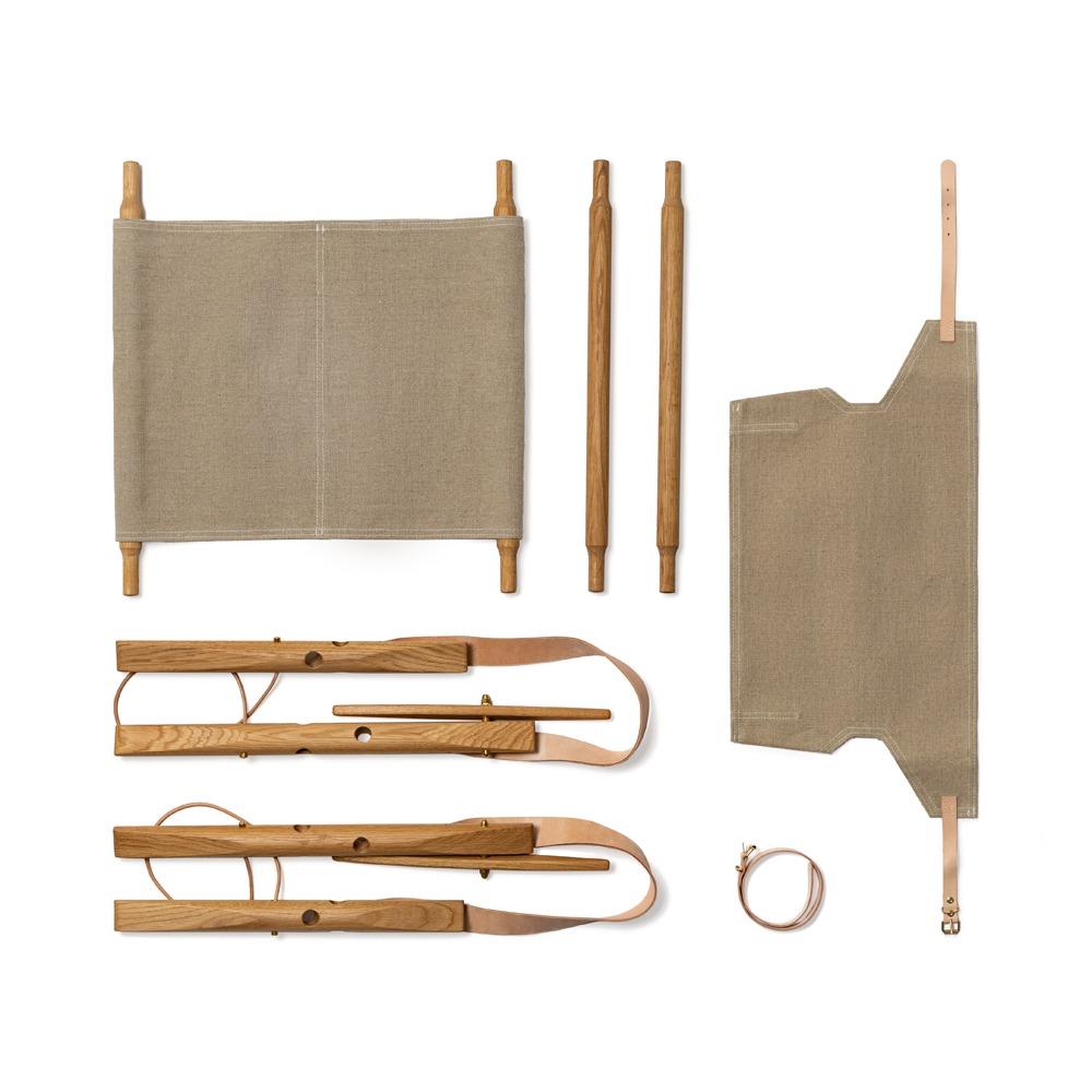 We Do Wood Nomad Chair onderdelen