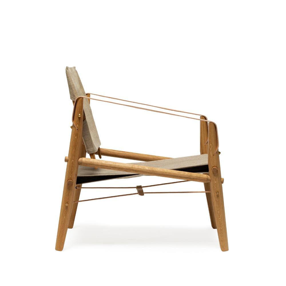 We Do Wood Nomad Chair fauteuil zijkant