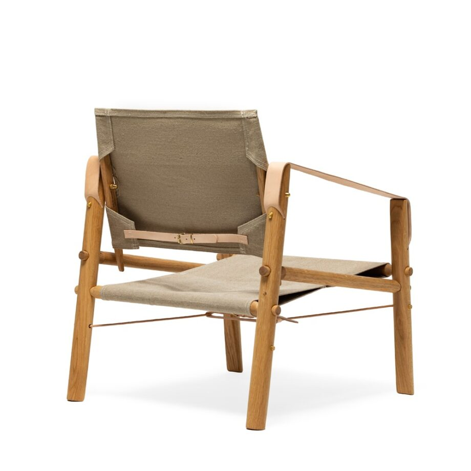 We Do Wood Nomad Chair fauteuil achterkant