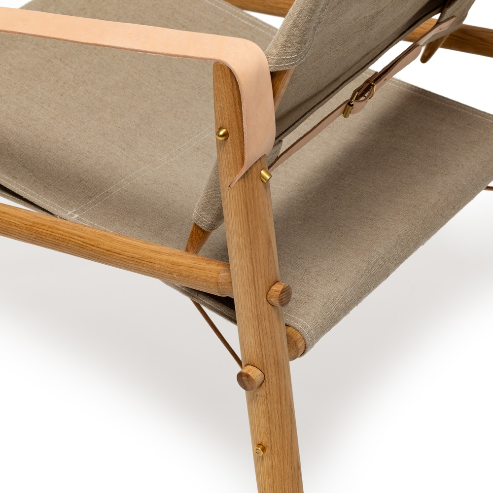Close up We Do Wood Nomad Chair