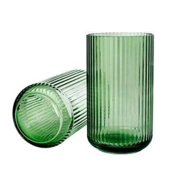 Lyngby-Glasvaas-31cm-Copenhagen-Green-lyngby-porcelain