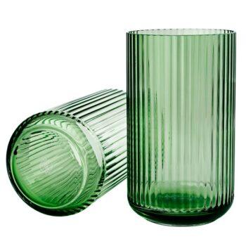 Lyngby-Porcelaen-Lyngby-Glasvaas-38cm-Copenhagen-Green