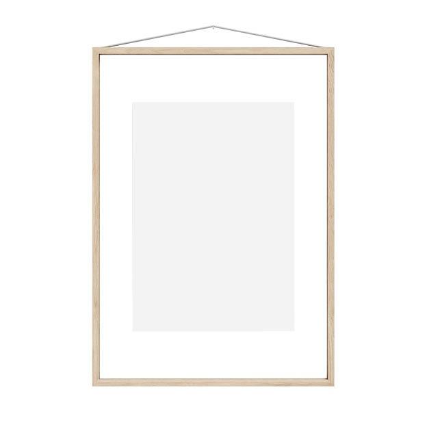 Moebe frame A2 Ash essenhout transparante lijst