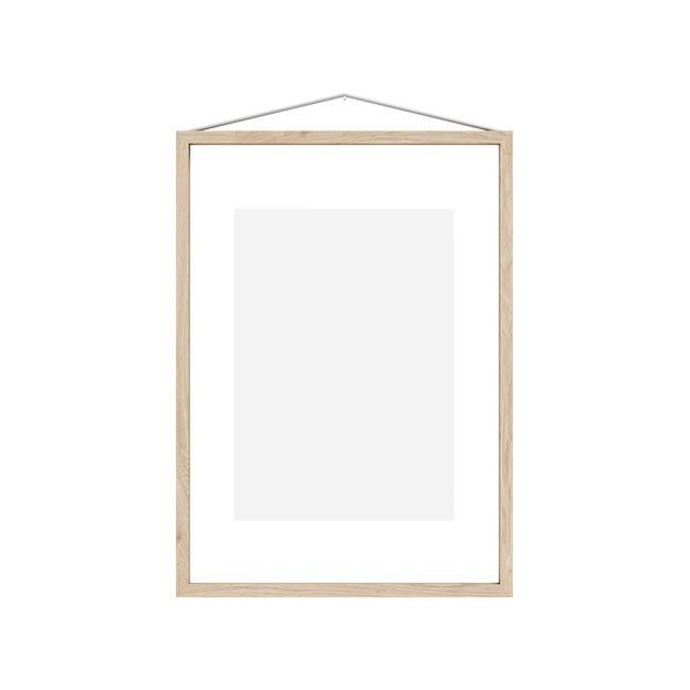 Moebe frame A3 Ash essenhout transparante lijst