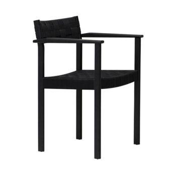 Form and refine Motif Armchair eetkamerfauteuil stoel naturel zwart eikenhout