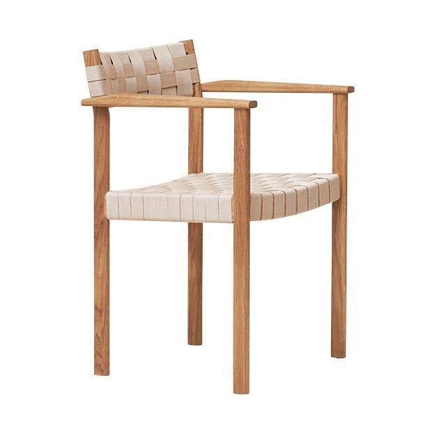 Form and refine Motif Armchair eetkamerfauteuil stoel naturel eikenhout