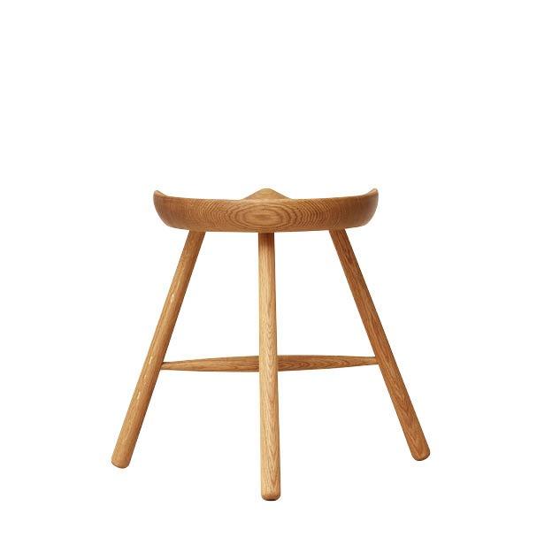 Form & Refine Schoemaker chair 49 naturel eiken achterkant
