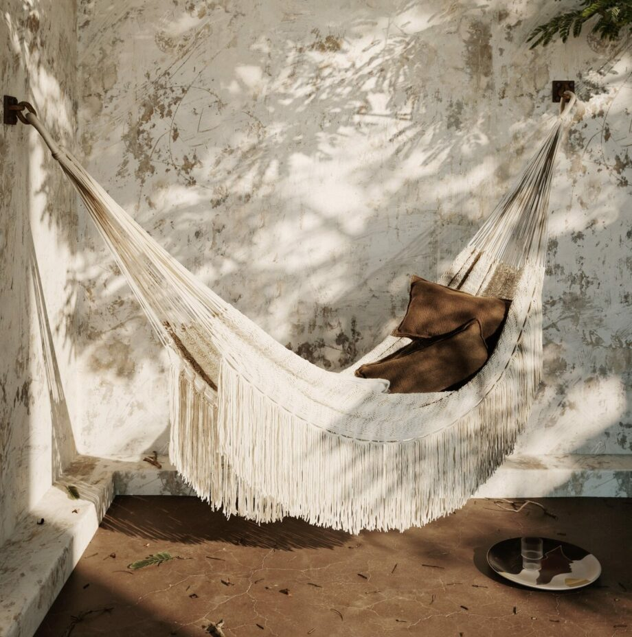 Ferm Living hangmat off-white