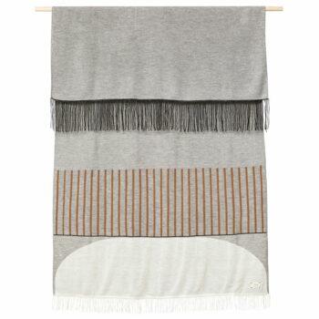 Form and refine aymara plaid grey alpacawol