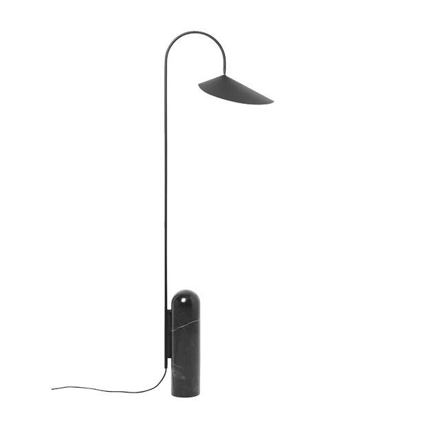 Ferm Living Arum vloerlamp zwart Floor lamp