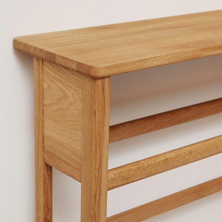 Form refine shoe rack schoenenrek eikenhout