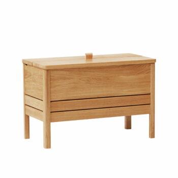 Form refine storage bench opbergbank 68 eiken geolied