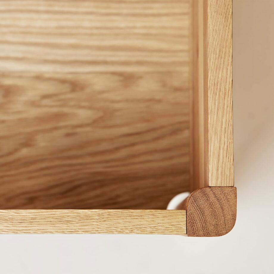 Form refine storage bench opbergbank detail