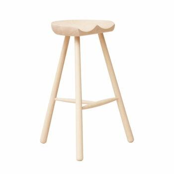 Form refine shoemaker chair 68 wit geolied beukenhout