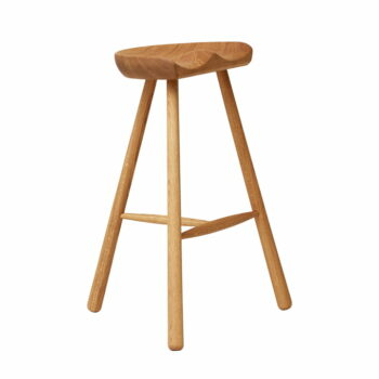 Form refine shoemaker chair 68 gerookt naturel eikenhout