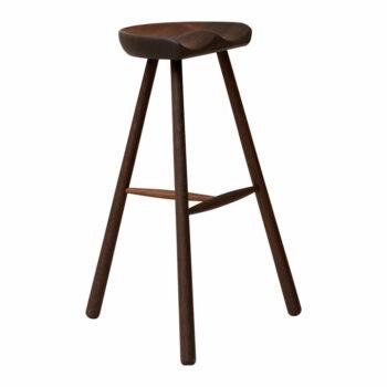 Form refine shoemaker chair 78 barkruk gerookt eikenhout