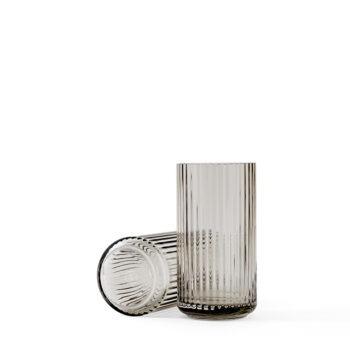 lyngby-vaas-20cm-glas-smoke-lyngby-porcelain