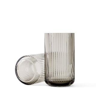 lyngby-vaas-25cm-glas-smoke-lyngby-porcelain