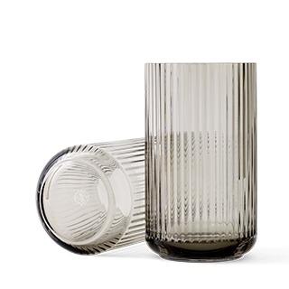 lyngby-vaas-31cm-glas-smoke-lyngby-porcelain