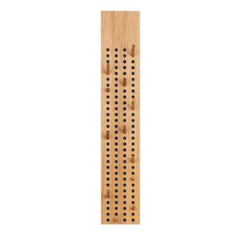 We Do wood Scoreboard kapstok vertical eikenhout