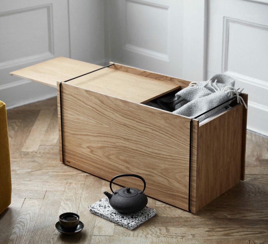 Storage box met deksel opberger van Moebe