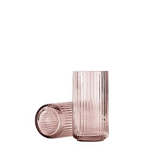 Lyngby vaas burgundy 20 cm glas