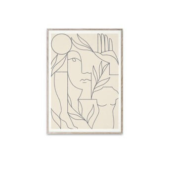 Paper Collective Eden poster 30 x 40 cm