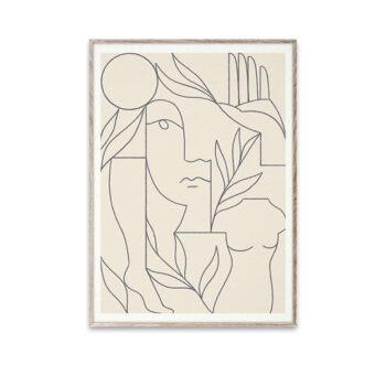 Paper Collective Eden poster 50 x 70 cm