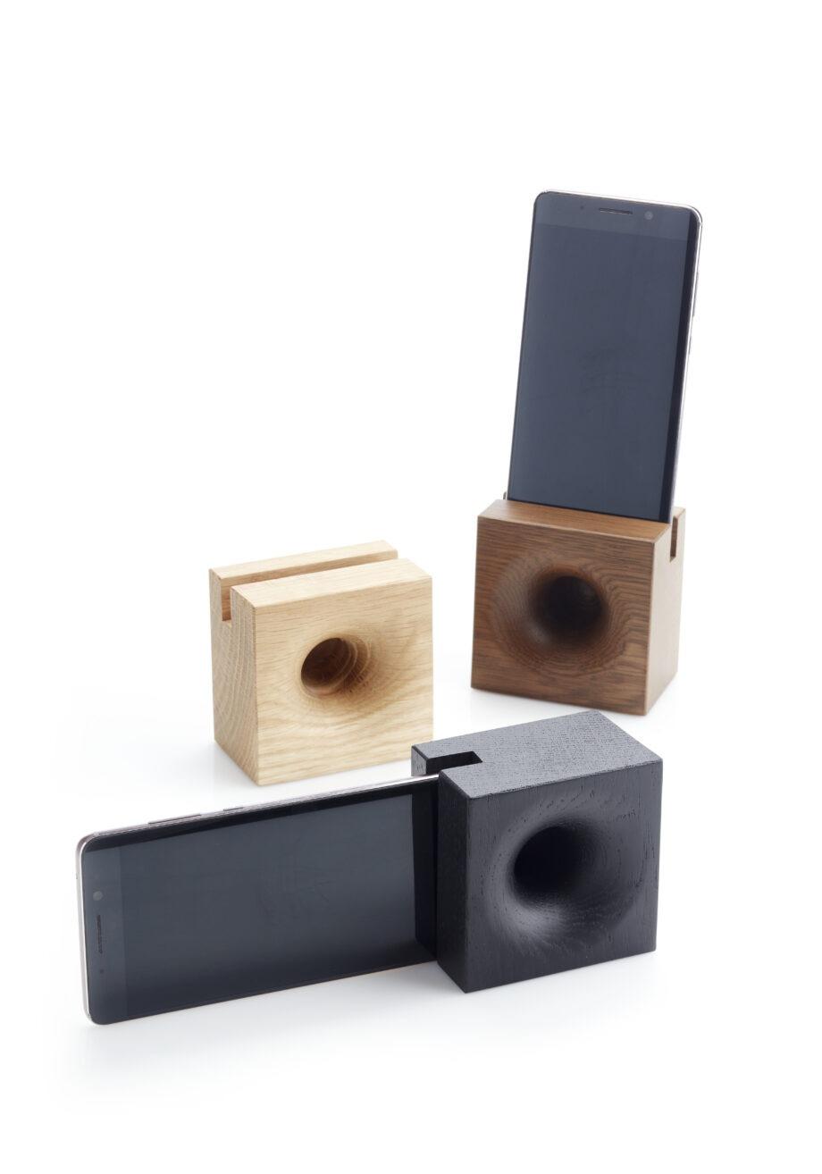Sono Ambra speaker voor Smartphone van We Do Wood