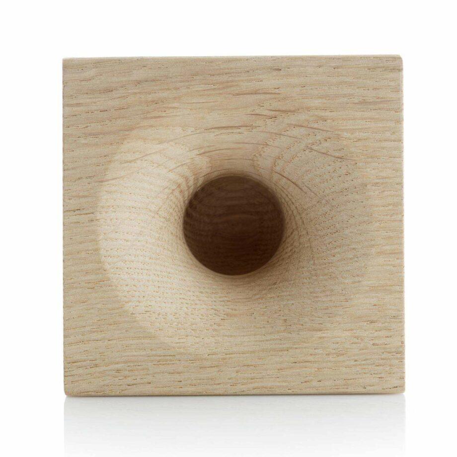 We Do Wood eikenhouten luidspeaker voor smartphone sono ambra