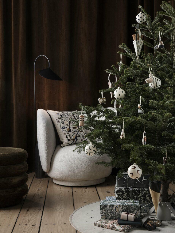 Ferm Living metalen kerstboomstandaard kerstboomvoet