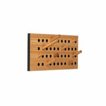 We do wood kapstok eikenhout scoreboard small horizontaal
